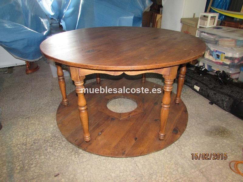 Mesa redonda cod 13415 segunda mano - Mesas de cocina segunda mano ...