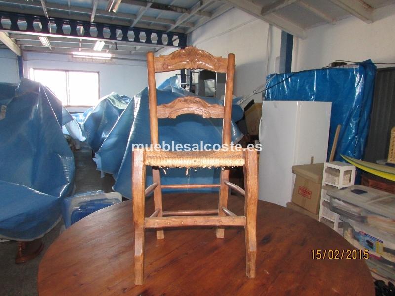 Sillas de madera cod 13416 segunda mano for Sillas madera segunda mano