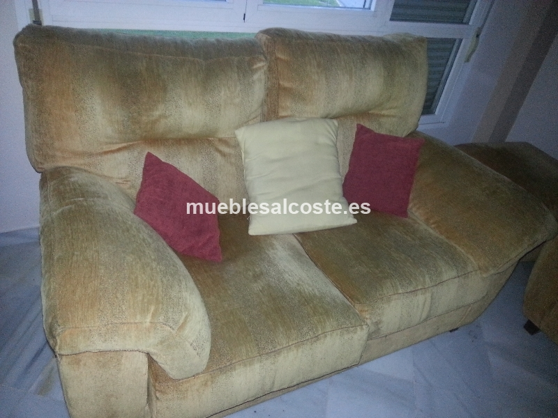 Sofas de dos y tres plazas cod 13451 segunda mano for Sofa segunda mano sevilla