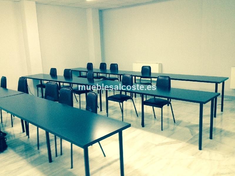 Mobiliario oficina estilo moderno acabado madera cod for Mobiliario oficina segunda mano