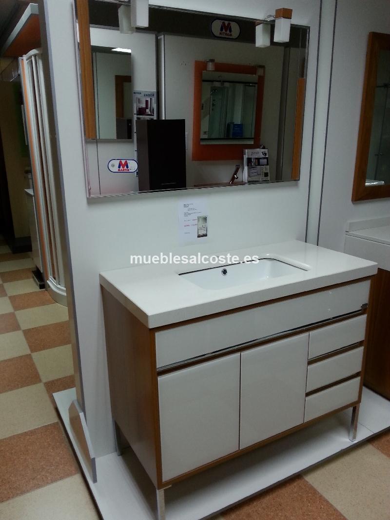 Mueble de bano de diseno cod 13498 liquidacion for Liquidacion muebles de bano