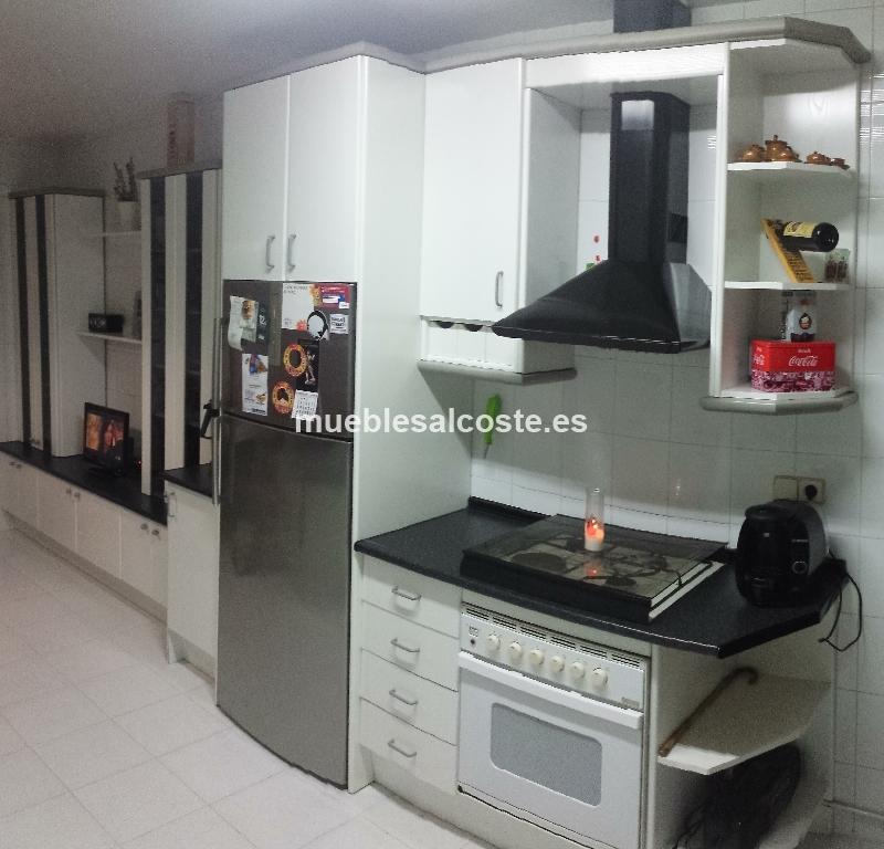 Muebles de cocina con office cod 13508 segunda mano for Muebles cocina alicante