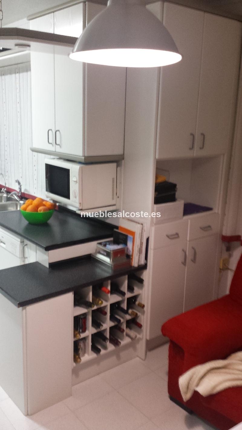Muebles de cocina con office cod 13508 segunda mano for Cocinas con muebles