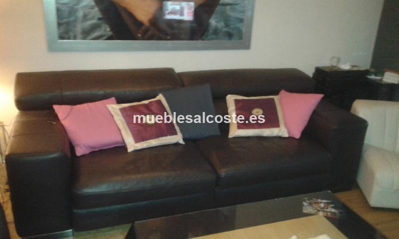 Sof de piel natuzzi cod 13616 segunda mano - Precio sofa natuzzi ...
