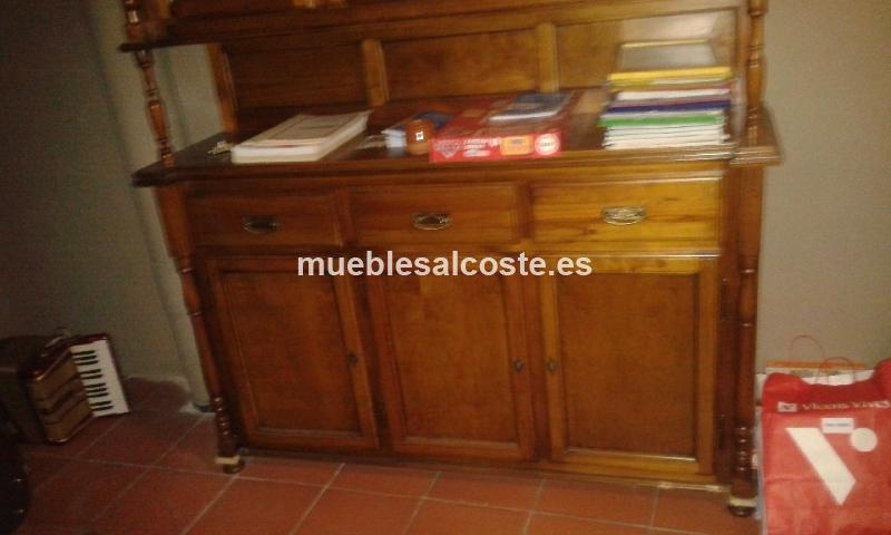 Muebles alacena estilo cl sico neocl sico acabado madera cod 13617 segunda mano - Muebles segunda mano castellon ...