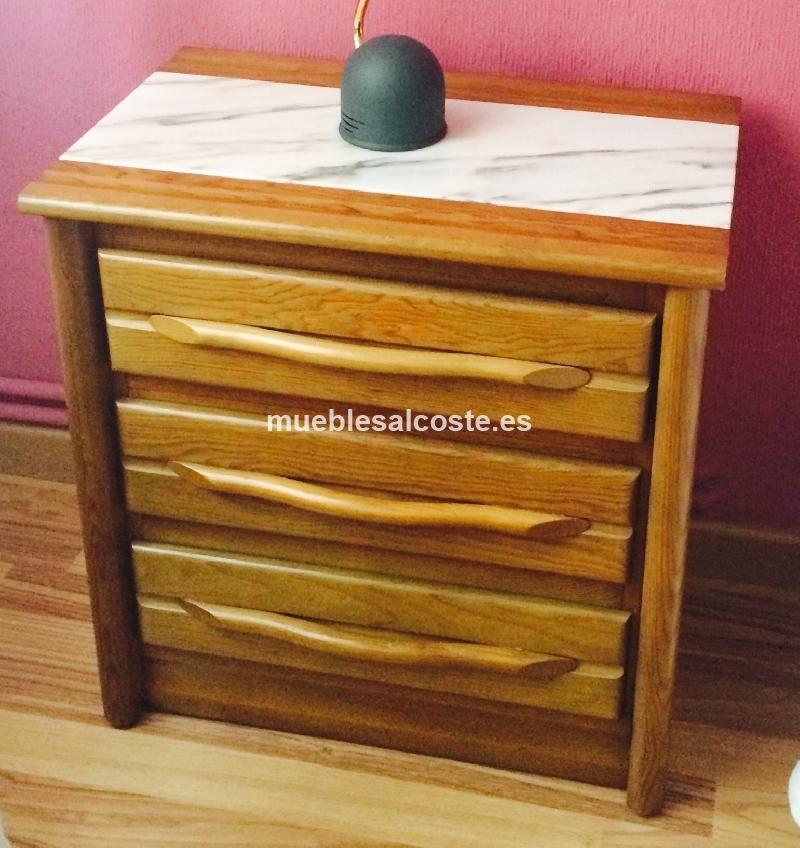 Muebles dormitorio estilo madera acabado madera cod 13625 segunda mano - Muebles segunda mano albacete ...