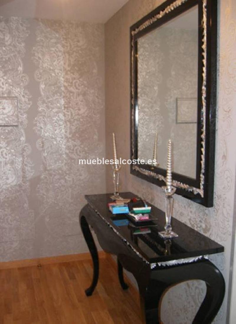 Recibidor y espejo vintage de lujo cod 13675 segunda mano for Espejo segunda mano