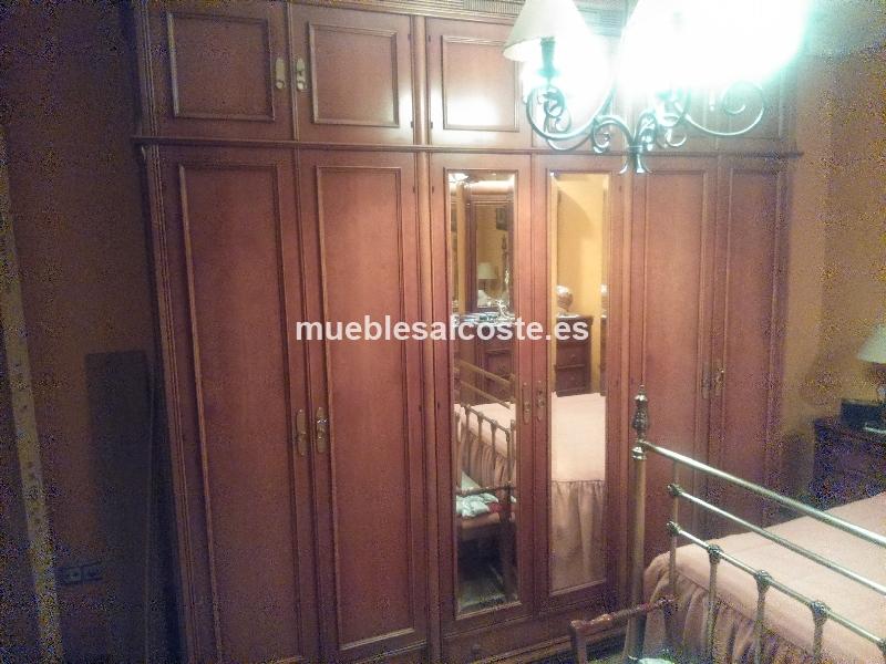 Armario habitacion estilo moderno acabado madera cod for Armarios habitacion