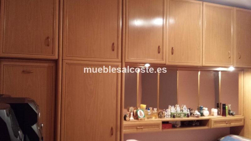 Habitacion juvenil estilo madera acabado chapa natural cod 13706 segunda mano - Comprar habitacion juvenil segunda mano ...