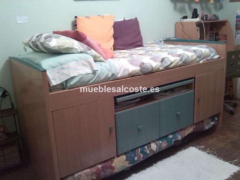 Artesanato Folclorico Do Espirito Santo ~ 2 camas juvenil con armario cod 13766 segunda mano, Mueblesalcoste es