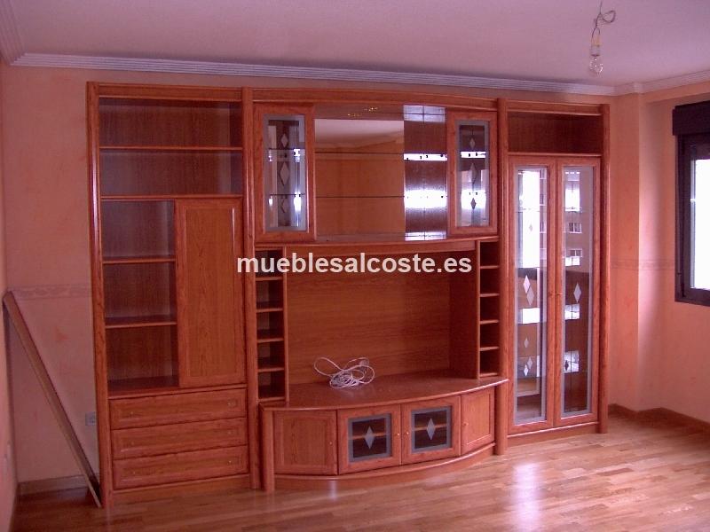 Mueble salon estilo igual foto acabado madera cod 13827 segunda mano - Muebles segunda mano parla ...