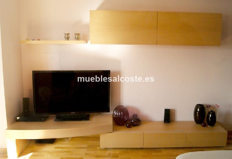 Conjunto mueble salon tv ebanis cod 13838 segunda mano for Conjunto muebles salon
