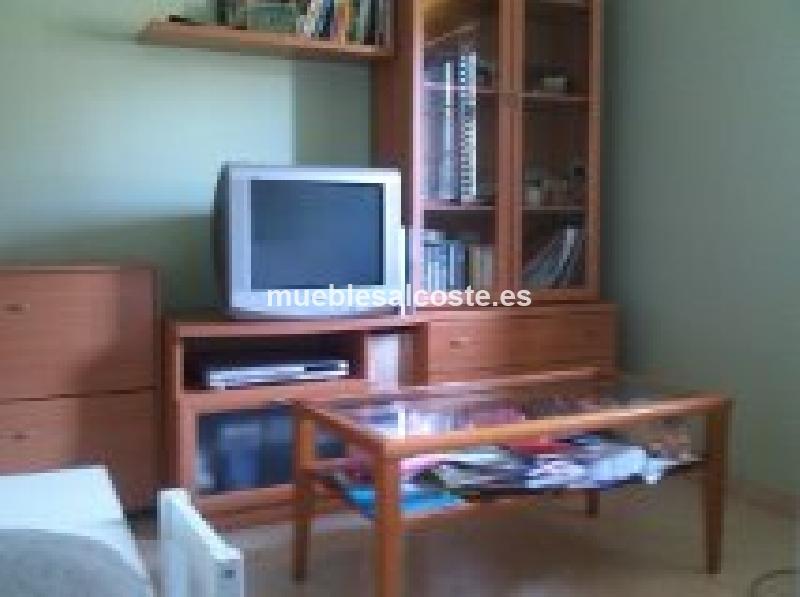Mueble de salon y su mesa auxiliar cod 13943 segunda mano for Mueble auxiliar salon