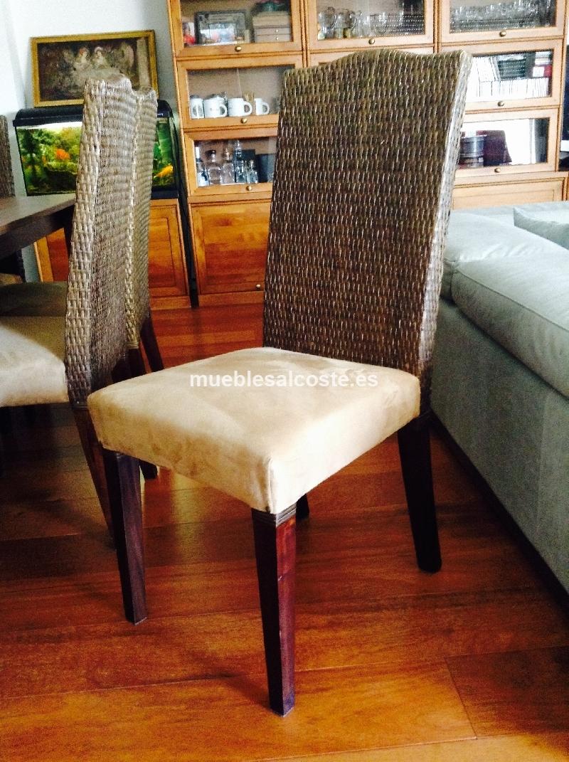 Comedor mesa y sillas cod 13991 segunda mano for Sillas comedor segunda mano