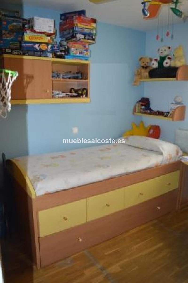 Habitacion juvenil completa cod 13999 segunda mano - Comprar habitacion juvenil segunda mano ...