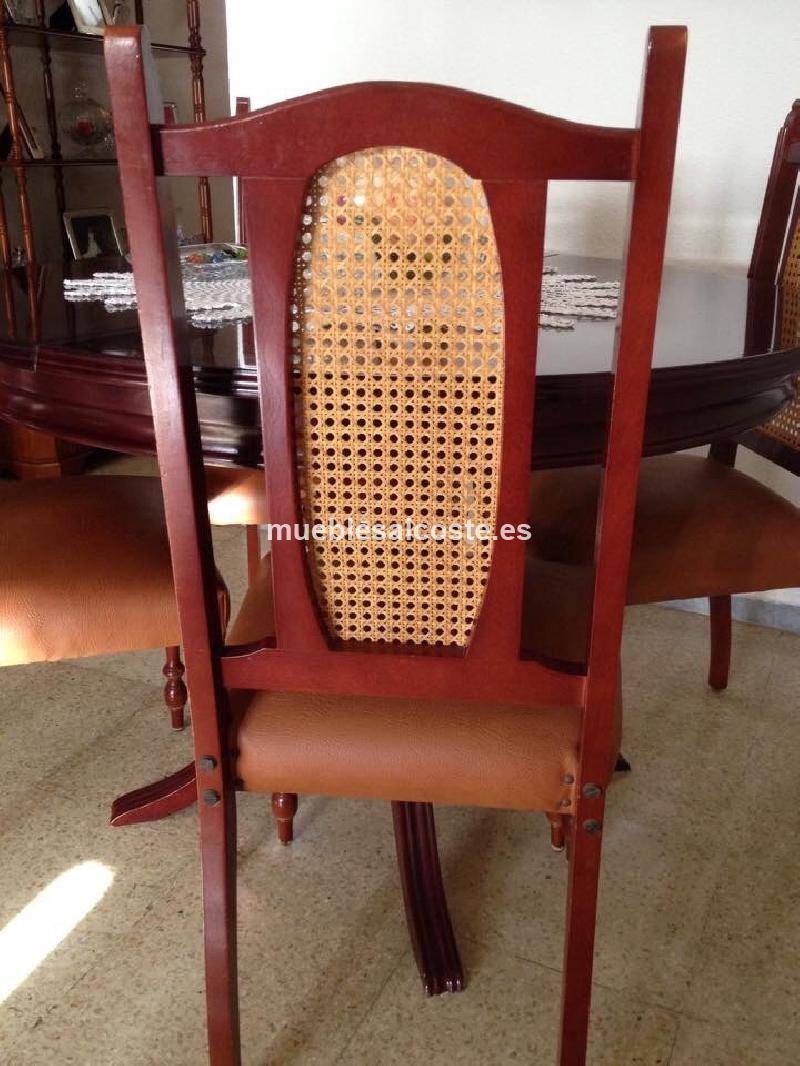 6 sillas de comedor cod 14005 segunda mano for Sillas comedor segunda mano