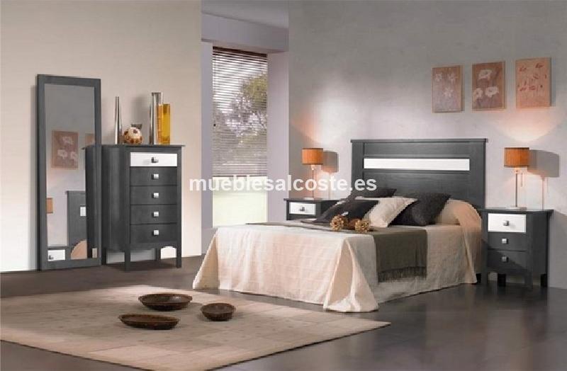 Dormitorio matrimonio rustico completo cod 14014 for Dormitorios ahorro total