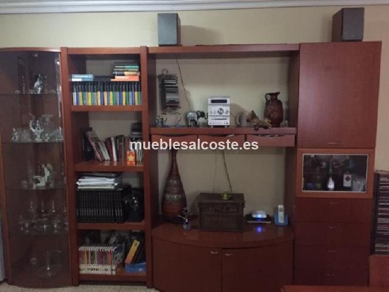 Mueble de salon y vitrina 14081 segunda mano, Mueblesalcostees