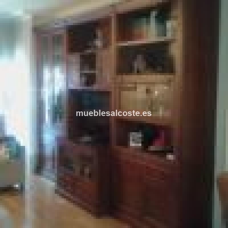 Mueble De Salon Con Vitrina Cod 14132 Segunda Mano