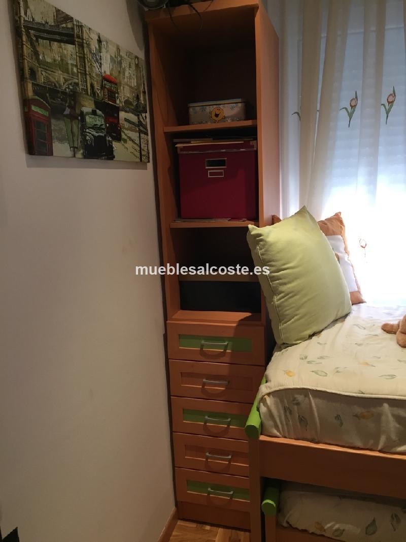 Habitacion juvenil estilo moderno acabado melamina cod 14173 segunda mano - Comprar habitacion juvenil segunda mano ...