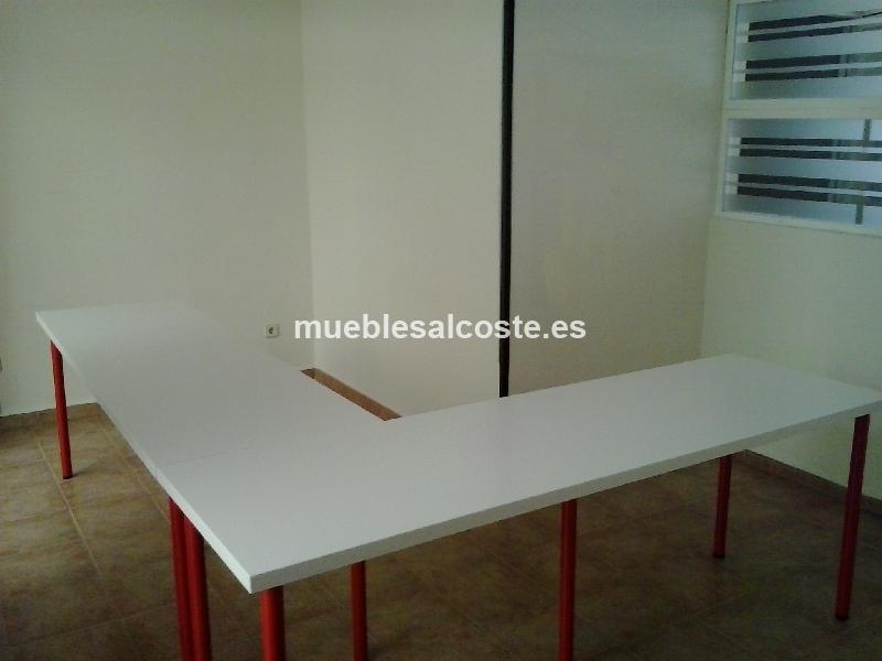 Sillas y mesas de oficina cod 14175 segunda mano for Mesas y sillas de oficina