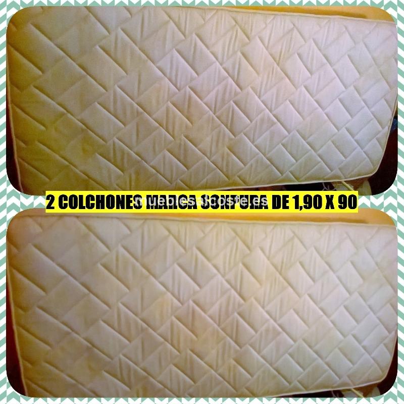 Colchones marca sonpura cod 14194 segunda mano for Colchones segunda mano
