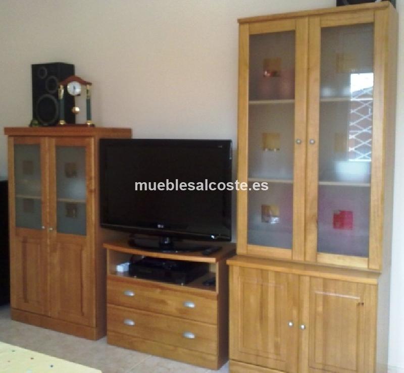 Muebles rusticos color miel cod:14625 segunda mano, Mueblesalcoste.es