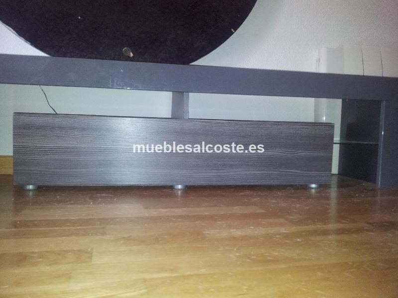 Mesa tv estilo moderno acabado chapa natural cod 14269 for Mesa tv segunda mano