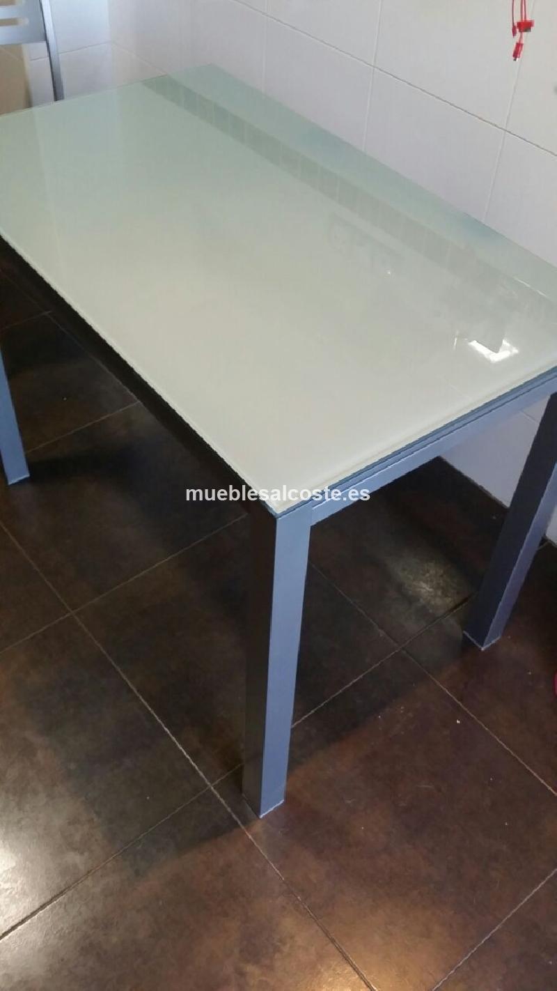 Mesa cocina estilo moderno acabado acero inoxidable cod - Mesa cocina segunda mano ...