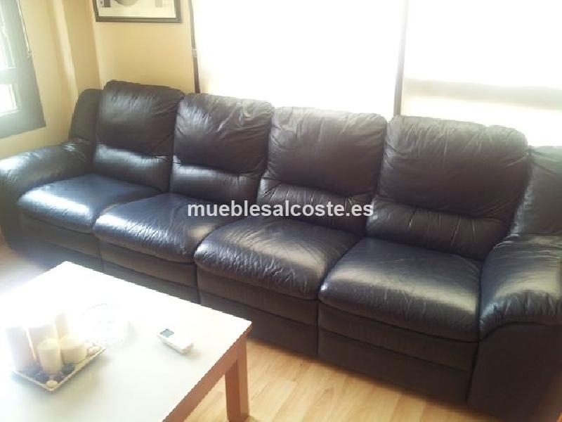 Sof de piel negro cod 14306 segunda mano - Sofa de segunda mano en malaga ...