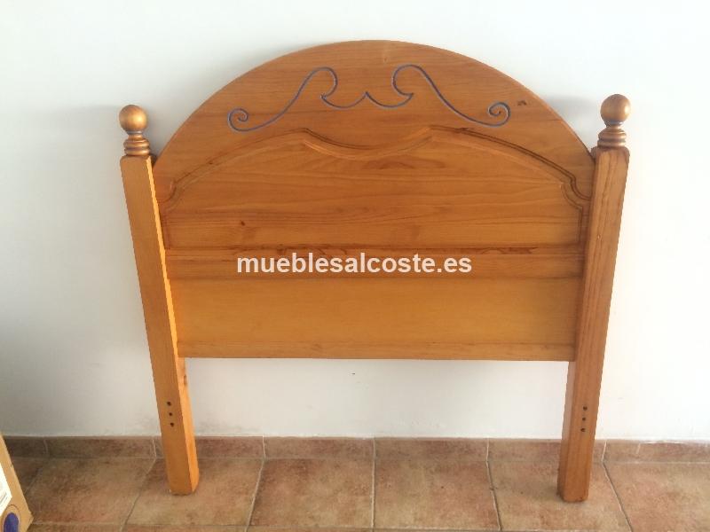 Cabecero cama de 90cm cod 14284 segunda mano for Cabeceros segunda mano