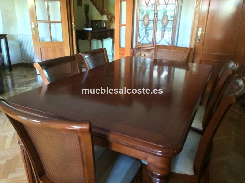 Aparador Estreito ~ Comedor mesa, sillas y aparador cod 14316 segunda mano, Mueblesalcoste es