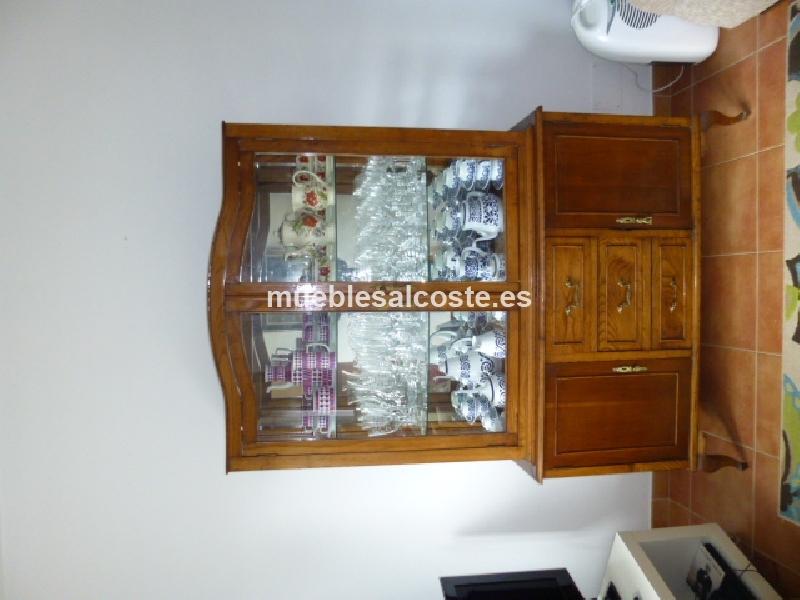 dormitorio completo y vitrina comedor de castano cod:14321 segunda ...