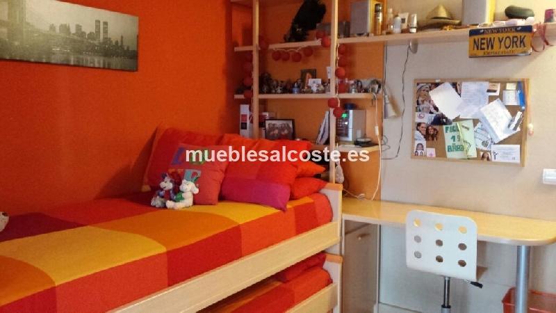 Dormitorio juvenil completo cod 14322 segunda mano - Dormitorio juvenil completo ...