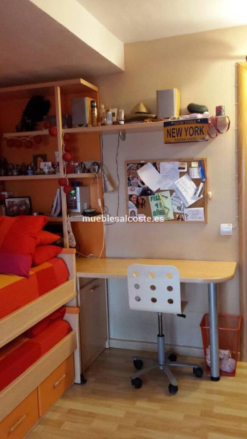 Dormitorio juvenil completo cod 14322 segunda mano for Dormitorio completo