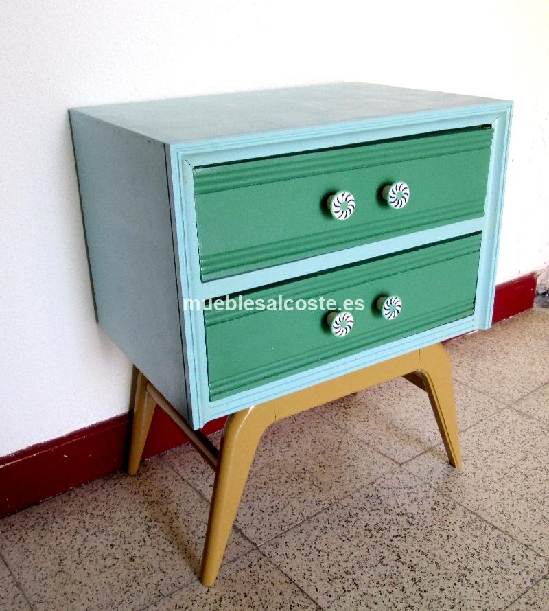 Mesita vintage cod 14352 segunda mano - Mueble vintage segunda mano ...