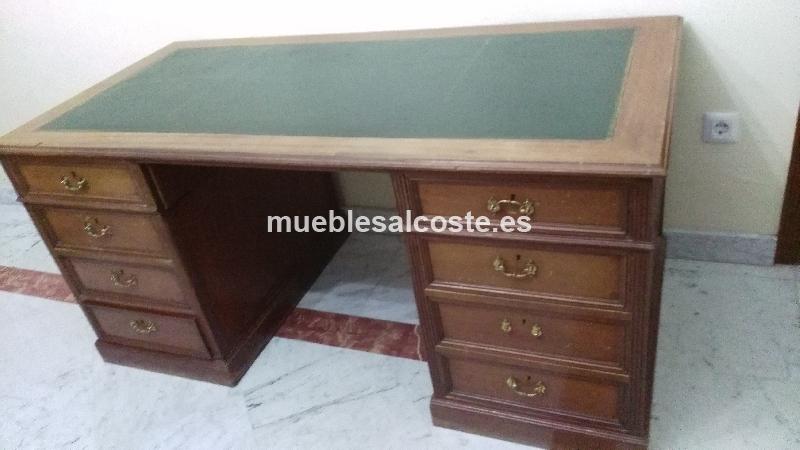 Mesa despacho estilo igual foto acabado igual foto cod 14372 segunda mano - Mesas despacho segunda mano ...