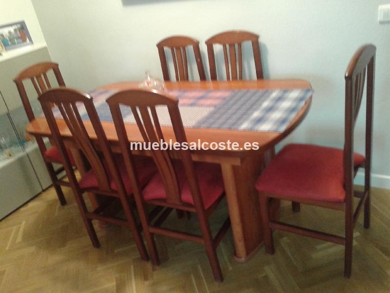 Espectacular mesa comedor extensible con 6 sillas cod:14401 segunda ...