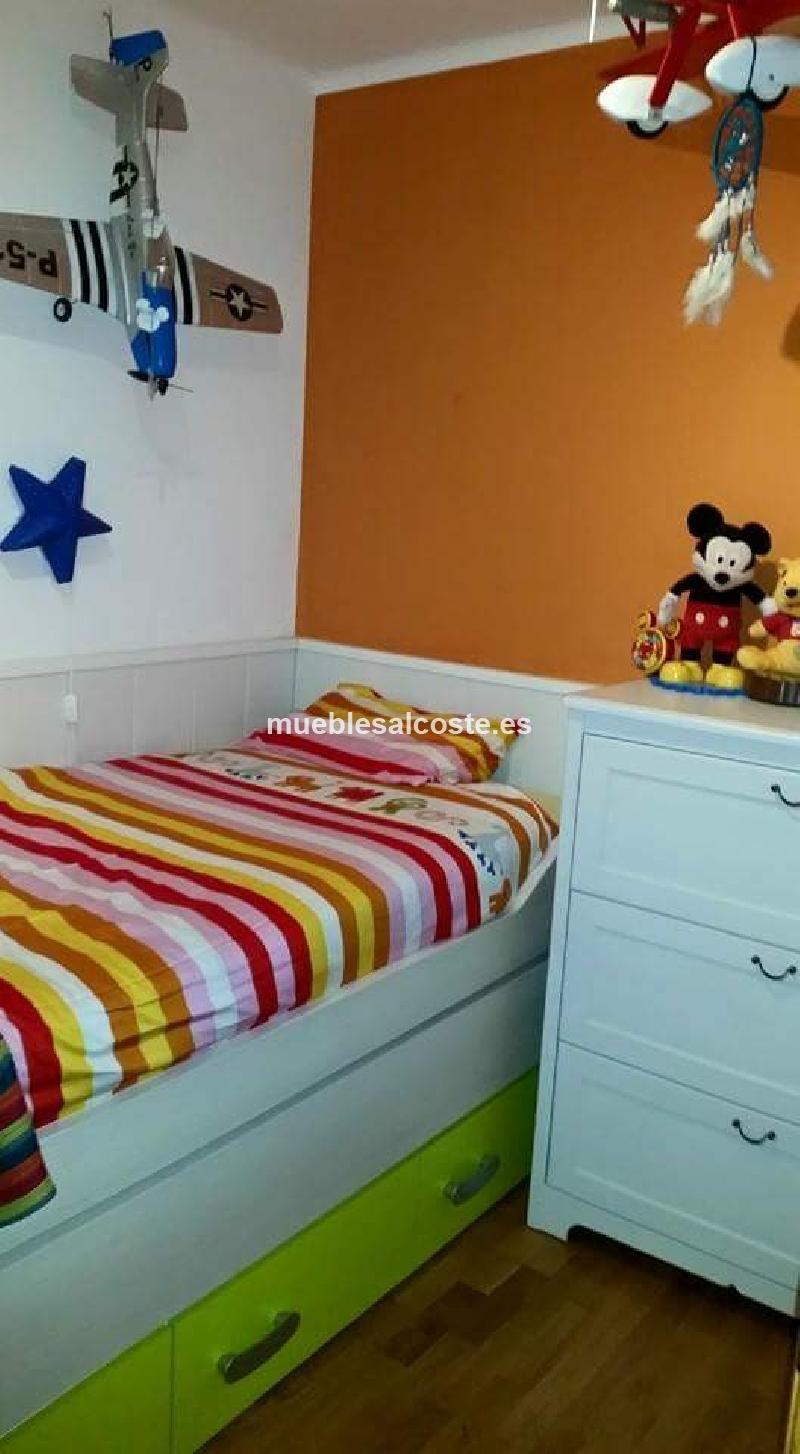Dormitorio juvenil nido nuevo sin estrenar dos camas y - Dormitorio juvenil dos camas ...