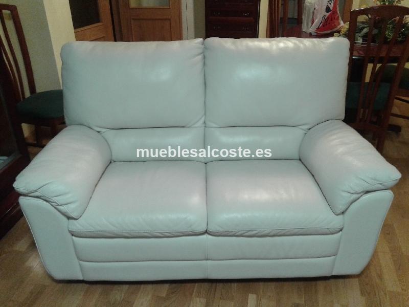 Conjunto de sofas de piel blancos alta calidad cod 14569 for Sofas alta calidad