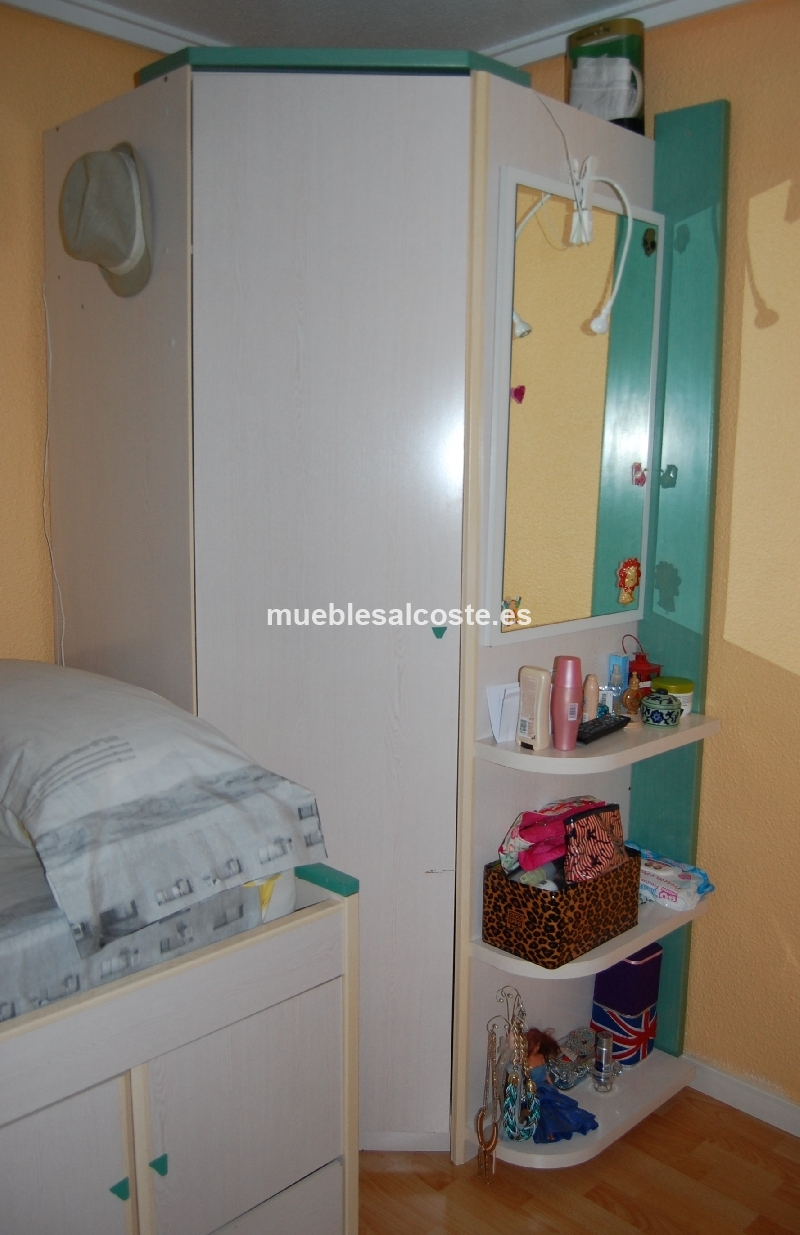 Habitacion juvenil madera maciza cod 14646 segunda mano - Comprar habitacion juvenil segunda mano ...