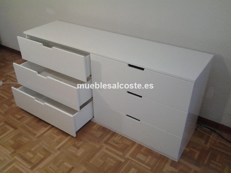 Artesanato Açoriano ~ Comoda Nordli de segunda mano de Ikea cod 14677 segunda