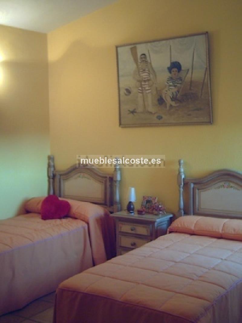 Dormitorio completo dos camas cod 14696 segunda mano for Dormitorio completo