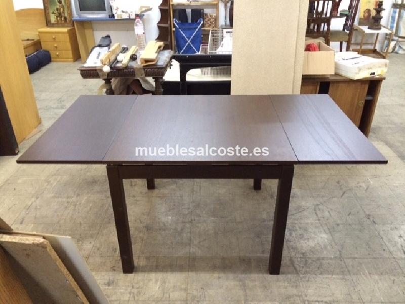 Mesa de ikea extensible cod 14703 segunda mano for Ikea mesa extensible