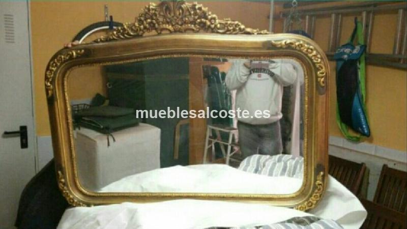 Marco con espejo vintage cod 14720 segunda mano for Espejos segunda mano barcelona