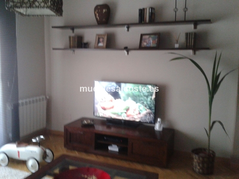 Mesa tv banak importa de teca cod 14734 segunda mano for Mesa tv segunda mano