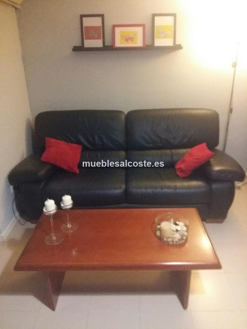 Sofa de piel cod 14747 segunda mano - Compra de sofas de segunda mano ...