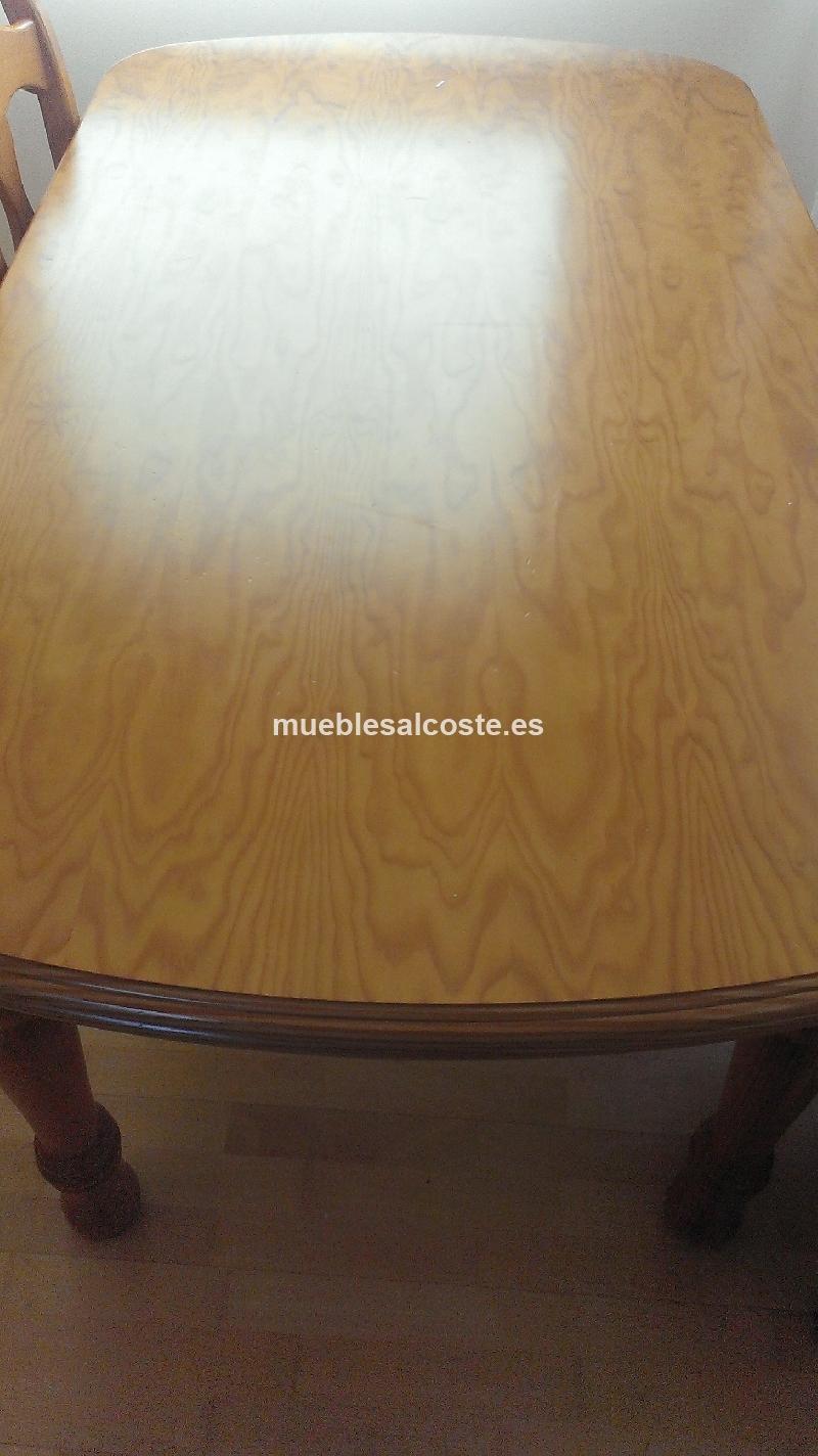 Mueble comedor mesa y sillas cod 14812 segunda mano for Mesa y sillas comedor segunda mano