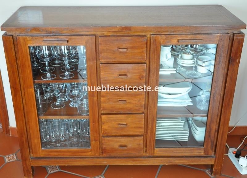 Muebles Banak Segunda Mano : Vitrinas de salon segunda mano mueble lacado