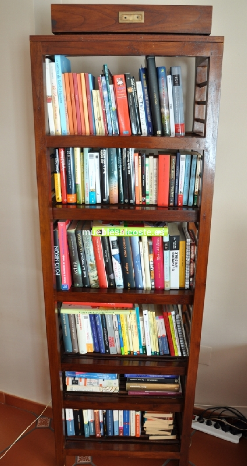 Estanteria libreria interesting estanteria invisible de - Estanteria libros ikea ...
